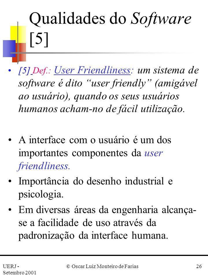 Qualidades do Software [5]